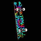 Powell Peralta Vato Rat Tie Dye Assembly 7.5 x 31