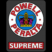 "Powell Peralta Supreme OG Sticker 6"" Single"