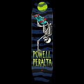 Powell Peralta Handplant Skelly Skateboard Deck Navy Shape 247 K20 - 8 x 31.45