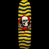 Powell Peralta Skateboard Freestyle Deck Yellow - 7.39 x 27.625