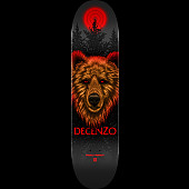 Powell Peralta Pro Scott Decenzo Bear 2 Skateboard Deck - Shape 247 - 8 x 31.45