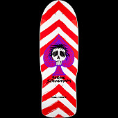 Powell Peralta Steadham Spade Blem Skateboard Deck Red/Wht 153 SP3