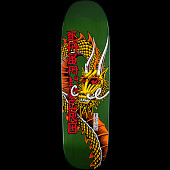 Powell Peralta Pro Caballero Ban This Dragon Blem Skateboard Deck Green - 9.265 x 32