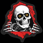 "Powell Peralta Ripper 3"" Sticker Single"