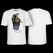 Powell Peralta Garbage Skelly T-shirt White