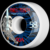 Powell Peralta Ray Rodriguez Skull and Sword Skateboard Wheels 58mm 90A 4pk