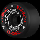 Powell Peralta G-Bones Skateboard Wheels 64mm 97a - Black (4 pack)