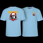 Powell Peralta Ripper T-shirt Powder Blue
