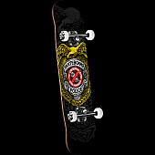 Powell Peralta Skateboard Police Complete Skateboard - 8 x 32.125