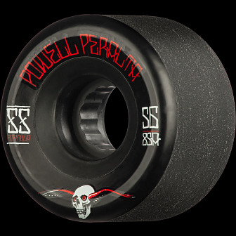 Powell Peralta G-Slides Skateboard Wheels 56mm 85A 4pk Black