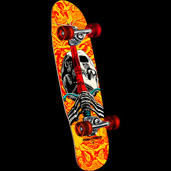 Powell Peralta Mini Skull and Sword Complete Skateboard Assembly - 8 x 30