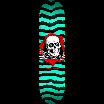 Powell Peralta Ripper Skateboard Blem Deck Green 245 K21