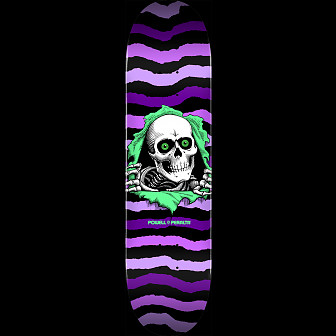 Powell Peralta Ripper Skateboard Deck Purple 245 K21 - Shape 245 - 8.75 x 32.95