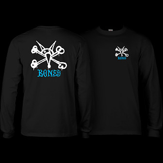 Powell Peralta Rat Bones L/S T-shirt Black