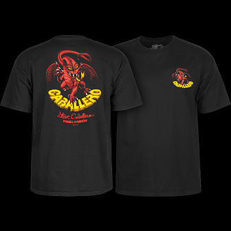 Powell Peralta Steve Caballero Dragon II T-shirt - Black