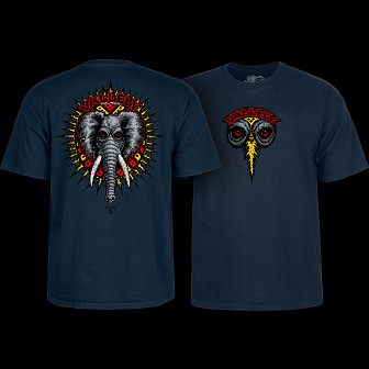 Powell Peralta Vallely Elephant T-shirt Navy