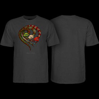 Powell Peralta T-shirt Snakehead Black Light