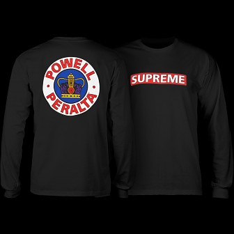 Powell Peralta Supreme L/S T-shirt - Black