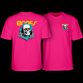 Powell Peralta Ripper T-shirt Hot Pink