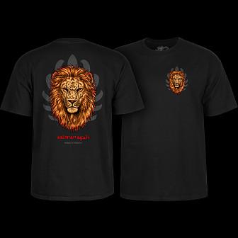 Powell Peralta Salman Agah Lion T-Shirt Black