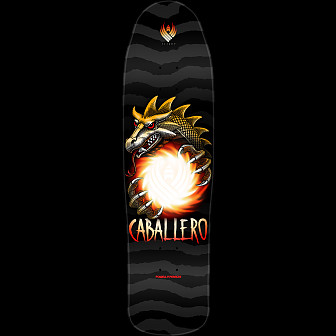 Powell Peralta Steve Caballero Dragon Ball Flight Skateboard Deck - Shape 216 - 9 x 31.9
