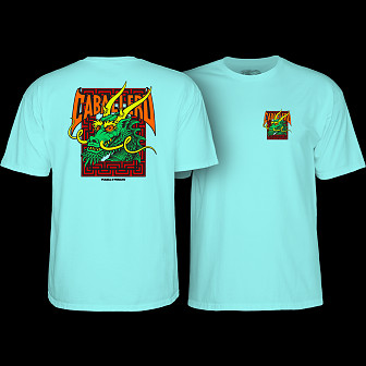 Powell Peralta Steve Caballero Street Dragon T-shirt Celadon