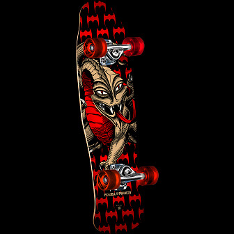 Powell Peralta Mini Cab Dragon Black Complete Skateboard - 8 x 29.5