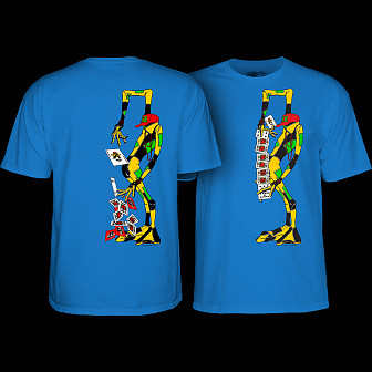 Powell Peralta Ray Barbee Rag Doll T-Shirt Royal Blue