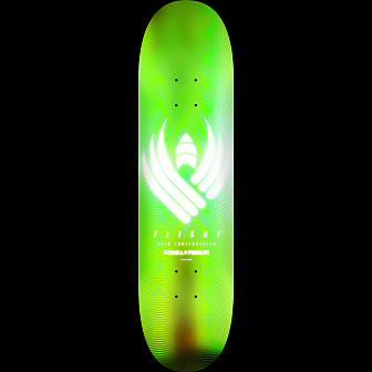 Powell Peralta Flight® Skateboard Deck Glow Lime - Shape 245 - 8.75 x 32.95