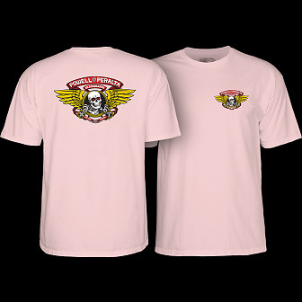 Powell Peralta Winged Ripper T-shirt Light pink