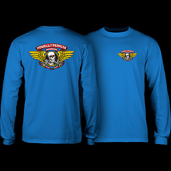 Powell Peralta Winged Ripper L/S T-shirt Royal Blue
