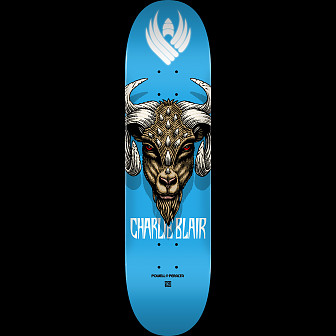 Powell Peralta Pro Charlie Blair Goat 2 Flight® Skateboard Deck - Shape 243 - 8.25 x 31.95