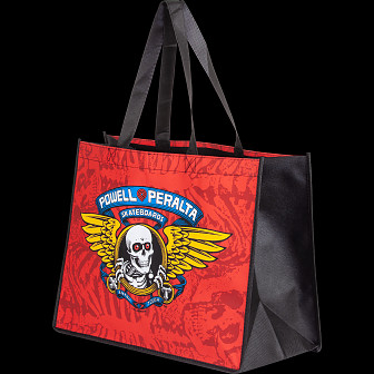 Powell Peralta Winged Ripper #2 Shopping Bag Non Woven Red 12x16