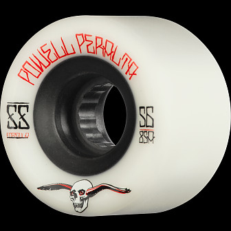 Powell Peralta G-Slides Skateboard Wheels 56mm 85a 4pk White