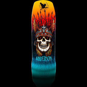 Powell Peralta Pro Andy Anderson Heron Flight® Skateboard Deck - 9.13 x 32.8
