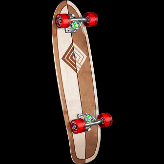Powell Peralta Sidewalk Surfer Two Tone Skateboard Cruiser Assembly - 7.75 x 27.20 WB 14.0