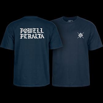 Powell Peralta PPP Burst Navy T-shirt