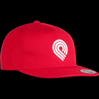 Powell Peralta 3P Snapback Cap Red