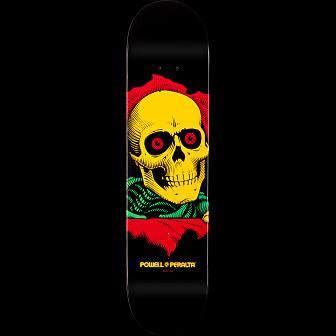 Powell Peralta Blacklight Ripper Skateboard Deck - 7.75 x 31.75
