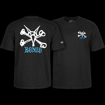 Powell Peralta Rat Bones YOUTH T-shirt - Black