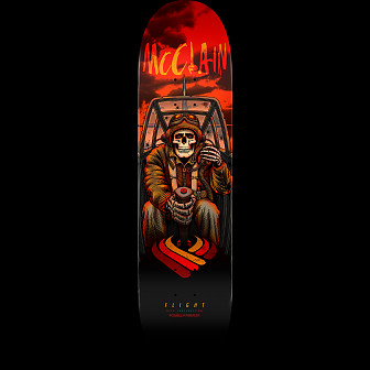 Powell Peralta Brad McClain Flight Pilot Skateboard Deck - Shape 243 - 8.25 x 31.95