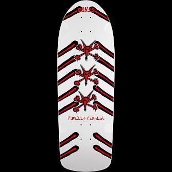 Powell Peralta OG Rat Bones Skateboard Deck White-  10 x 30