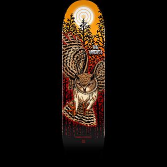 Powell Peralta Pro Ben Hatchell Owl Skateboard Blem Deck - 8.25 x 31.95