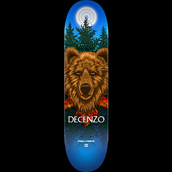 Powell Peralta Pro Scott Decenzo Bear Skateboard Deck - Shape 249 - 8.5 x 32.08