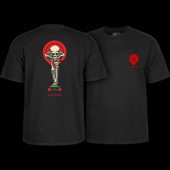 Powell Peralta Tucking Skeleton T-shirt Black