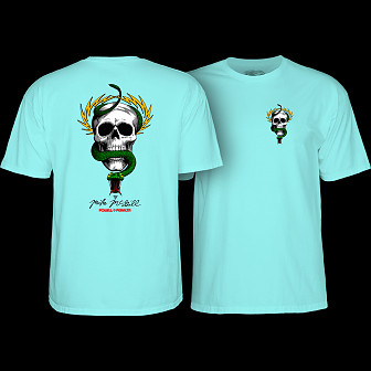 Powell Peralta McGill Skull and Snake T-shirt Celadon