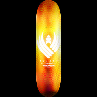 Powell Peralta Flight Skateboard Deck Glow Gold - 8.5 x 32.08