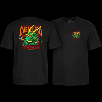 Powell Peralta Steve Caballero Street Dragon T-shirt - Black