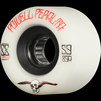 Powell Peralta G-Slides Skateboard Wheels 59mm 85a 4pk White