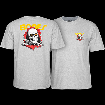 Powell Peralta Ripper Youth T-shirt - Gray